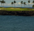 The signature hole on the Francis H. I'i Brown South Course at Mauna Lani Resort on the Big Island of Hawaii is unforgettable.