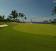 The par-3 12th on the Mauna Lani Resort's South Course is part of a very scenic stretch on the back nine.
