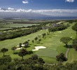 Kahili Golf Course's first and third holes play parallel with one another on the mountain slopes.