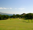 The third hole at Kahili Golf Course is a long par 5 that plays toward the ocean.