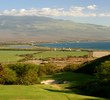 The 13th hole at Kahili Golf Course is a par 3 that heads straight downhill.