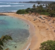The beach at Turtle Bay Resort is a safe haven from all those North Shore waves.