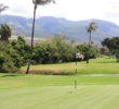 The 402-yard par-4 16th is one of the tougher holes on the Kai Course at Kaanapali Resort on Maui.