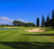 With water left, the par-4 10th at Makai Golf Club provides a challenging start to the back nine.