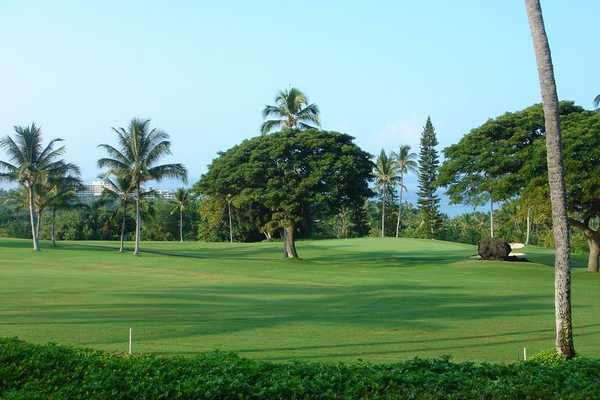 Kona Country Club - Ocean golf course