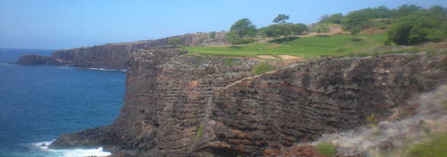 The Challenge at Manele Bay's rocky 202-yard, par-3 No. 12