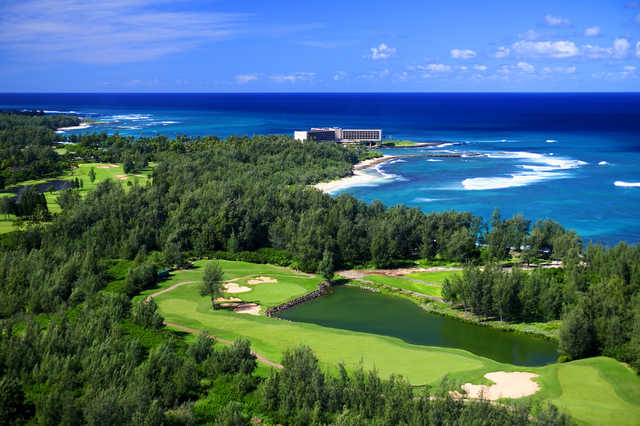 0364c5a8 Arnold Palmer Course at Turtle Bay Resort in Kahuku