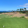 A view from tee #9 at Mauna Kea Golf Course.