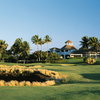 A view of the 18th hole at Kings' Course from Waikoloa Beach Resort