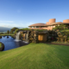 View of the clubhouse at King Kamehameha Golf Club