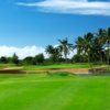 A view over the water from Hawaii Prince Golf Club