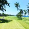 A view from the 14th tee at Kona Country Club.