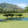 A view over the water from Hawaii Kai Golf Course.