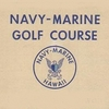 Navy Marine Golf Course Logo