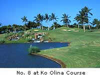 No. 8 at Ko Olina Course