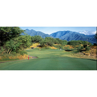 The Dunes at Maui Lani Golf Course's third hole is a short par 3, playing 145 yards.