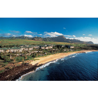 The Grand Hyatt Resort & Spa in Poipu Bay occupies 50 acres of oceanfront property.