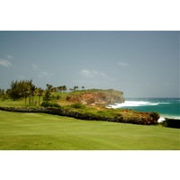 The 16th hole is considered Poipu Bay Golf Course's signature hole.