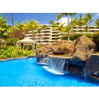 The Sheraton Maui Resort & Spa boasts a 142-yard freshwater swimming lagoon.