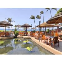 Westin Maui Resort And Spa's signature restaurant, Tropica Restaurant & Bar, offers sunset views and oceanfront dining.