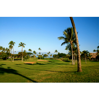 Royal Ka'anapali golf course is located near Lahaina on Maui's west coast.