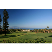 The fourth hole at Royal Ka'anapali GC is an uphill par 4.