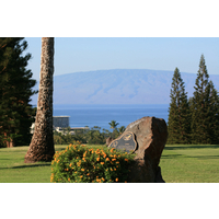 A locals tip: All putts break toward the island of Lanai at Royal Ka'anapali golf course.