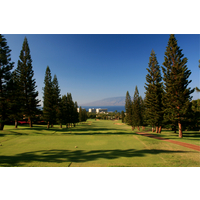 Royal Ka'anapali golf course's 10th hole is a 454-yard par 4.