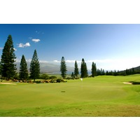King Kamehameha Golf Club's ninth hole is an uphill par 4.