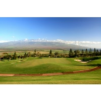You can view across the isthmus to Mount Haleakala from the fairways of King Kamehameha Golf Club.