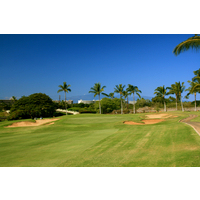 The third hole at Ka'anapali Kai is a long par 3.