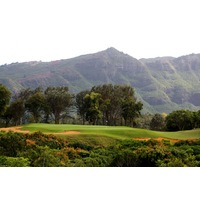 The standout hole on Kauai Lagoons Golf Club's Kiele Moaka nine is the par-3 fifth that plays more than 200 yards.