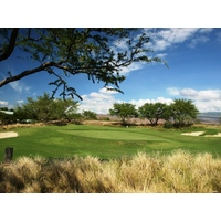 The 155-yard par 3 fifth at Hapuna Golf Course is the shortest hole on the course.