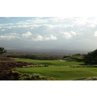 The finisher at Hapuna Golf Course is a 462-yard, dogleg-left par 4, the No. 2 handicap hole.