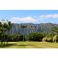 Olomana Golf Links is a favorite of Hawaiian locals.