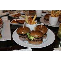 The sliders at the St. Regis Bar at the St. Regis Princeville Resort are perfect.