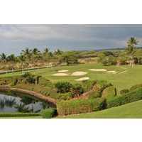 The Club at Hokuli'a is one of several exclusive private clubs on Hawaii Island's dry Kona Coast.