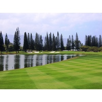 The par-5 18th hole at Makai Golf Club may not be on the ocean, but it's a strong finishing hole.